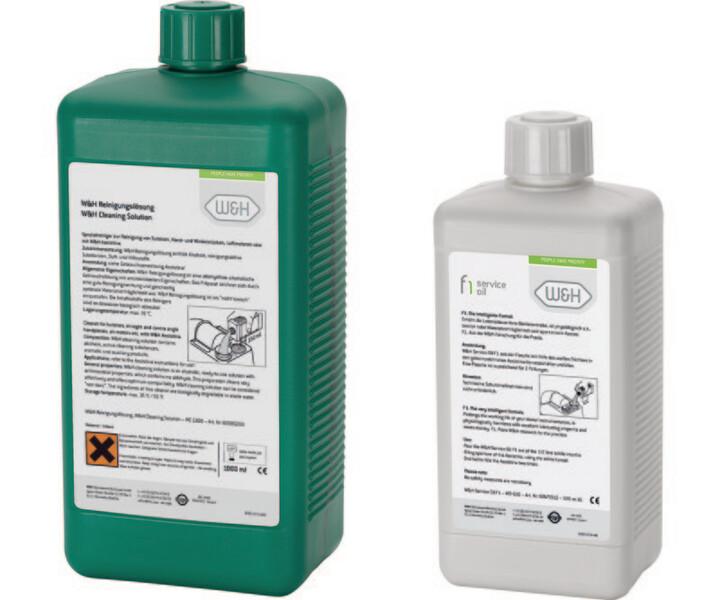 Service-Öl und Reinigungslösung für Assistina 301 plus