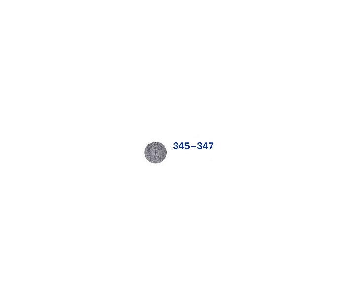Horico Diamantscheiben, Fig. H 345 - H 347