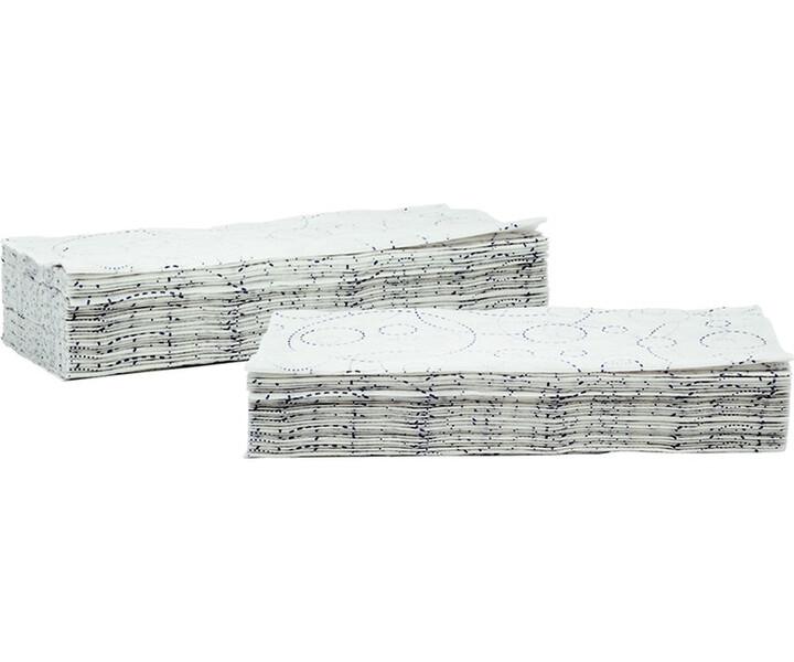 Einmalhandtücher mit Designprägung