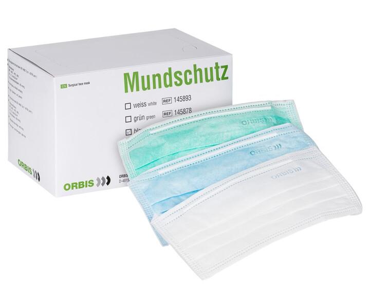 ORBIS Mundschutz mit Bändern