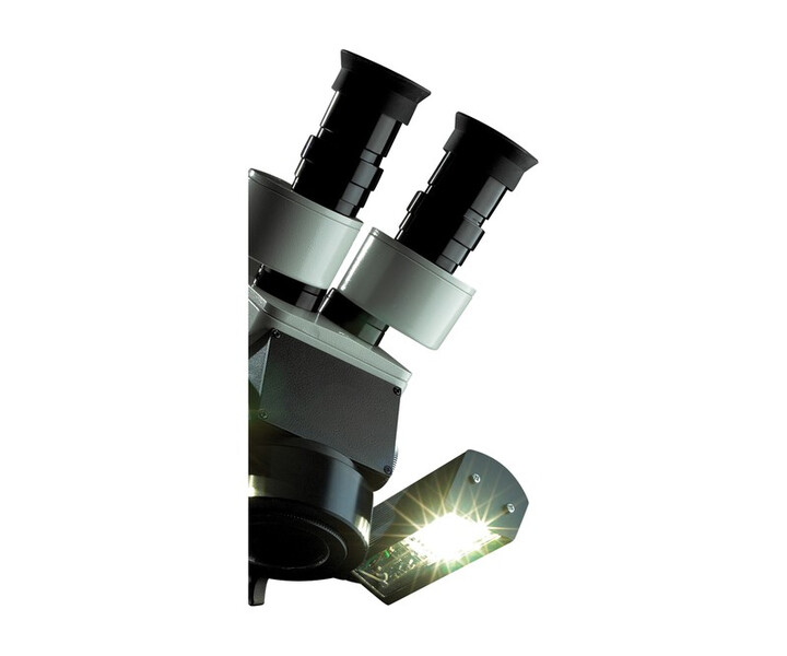 LED-Beleuchtung für Mobiloskop